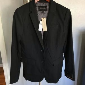 Banana republic NWT size 8 black blazer career